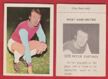 West Ham United Peter Eustace